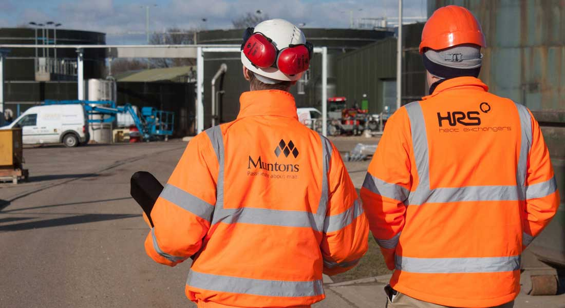 HRS kit has helped Muntons reduce their CO2 emissions