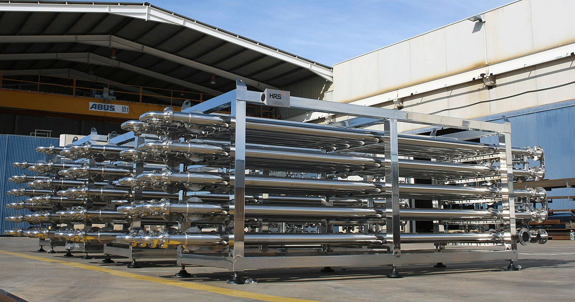 HRS Annular Space Heat Exchangers-AS Series Margarine Application