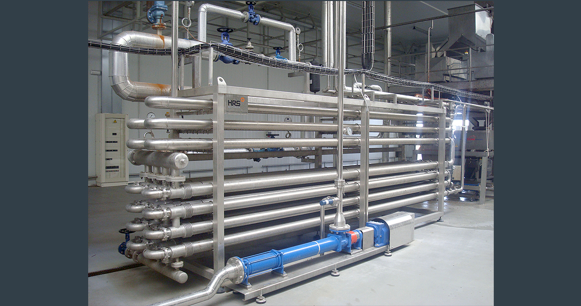 HRS DTA Series Double Tube Heat Exchanger - HRS DTA Series