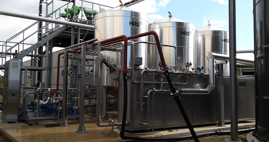 HRS Digesate Pasteurisation System