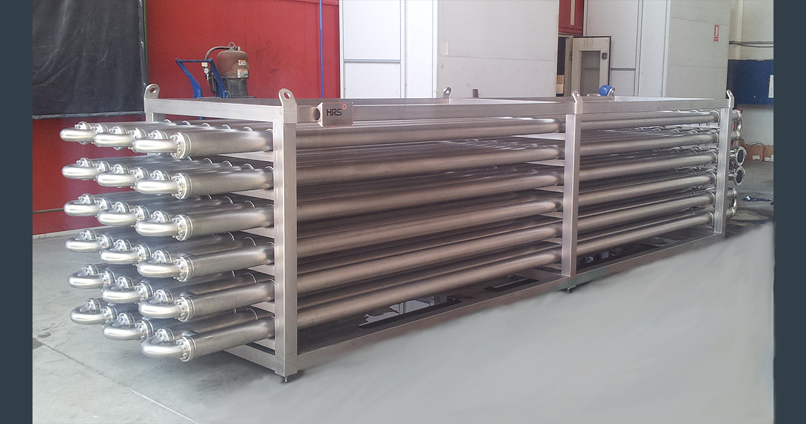 HRS DTA Series Double Tube Heat Exchanger