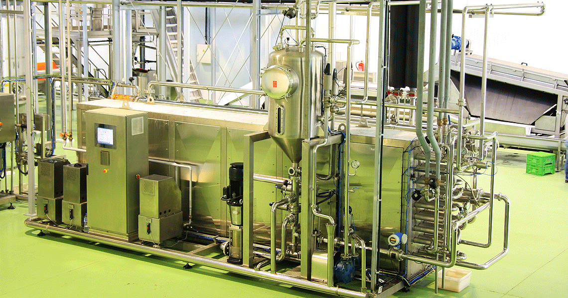 HRS Pasteurisation System tomato product