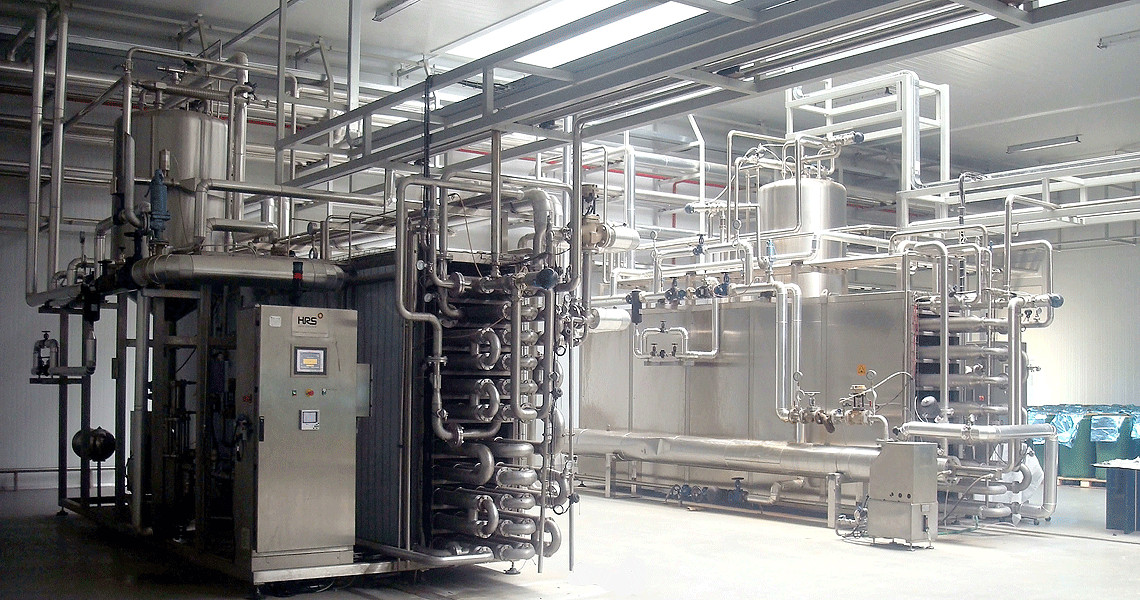 HRS Pasteurisation System