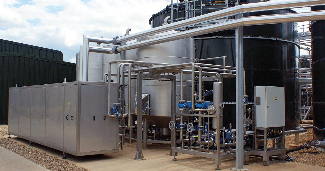 HRS Pasteurisation of Sludge System DPS