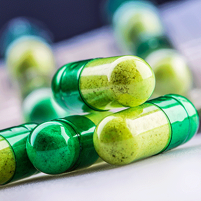Green Medicine Capsules - HRS Pharmaceutical Applications