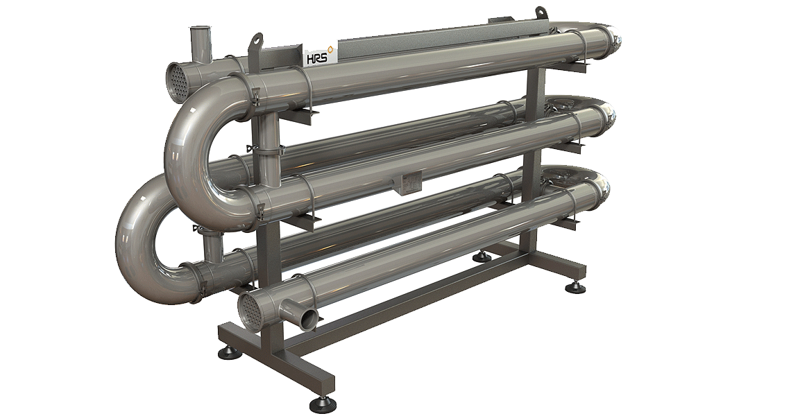 HRS MR Series Multi Tube Heat Exchanger