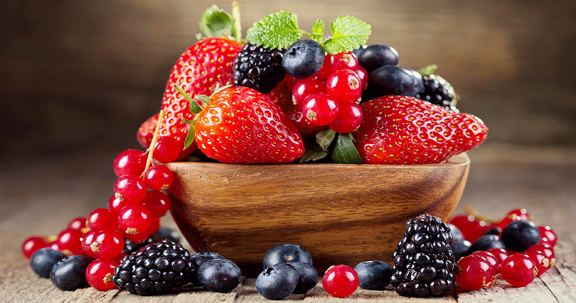 Bowl of Berries - HRS Fruit Applications