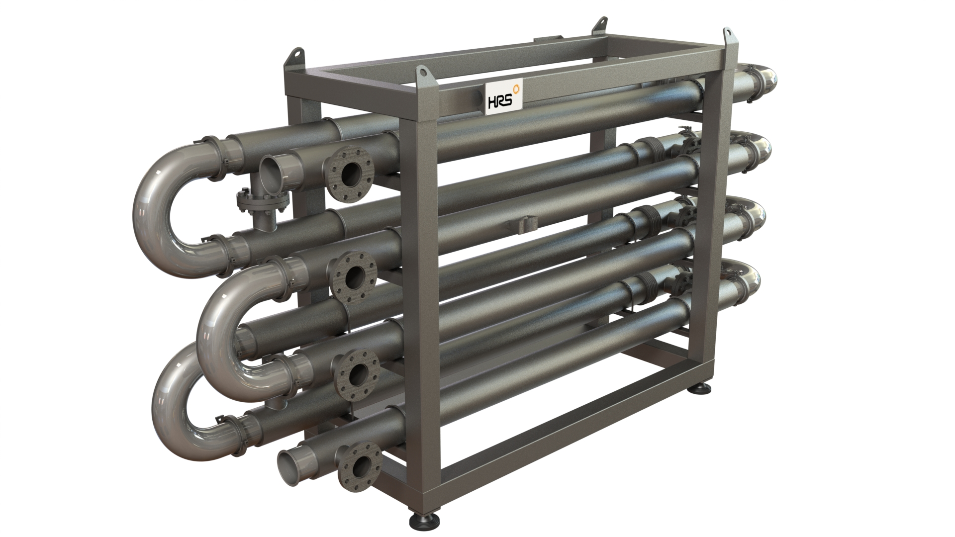 HRS DTA Series Hygienic Double Tube Heat Exchanger