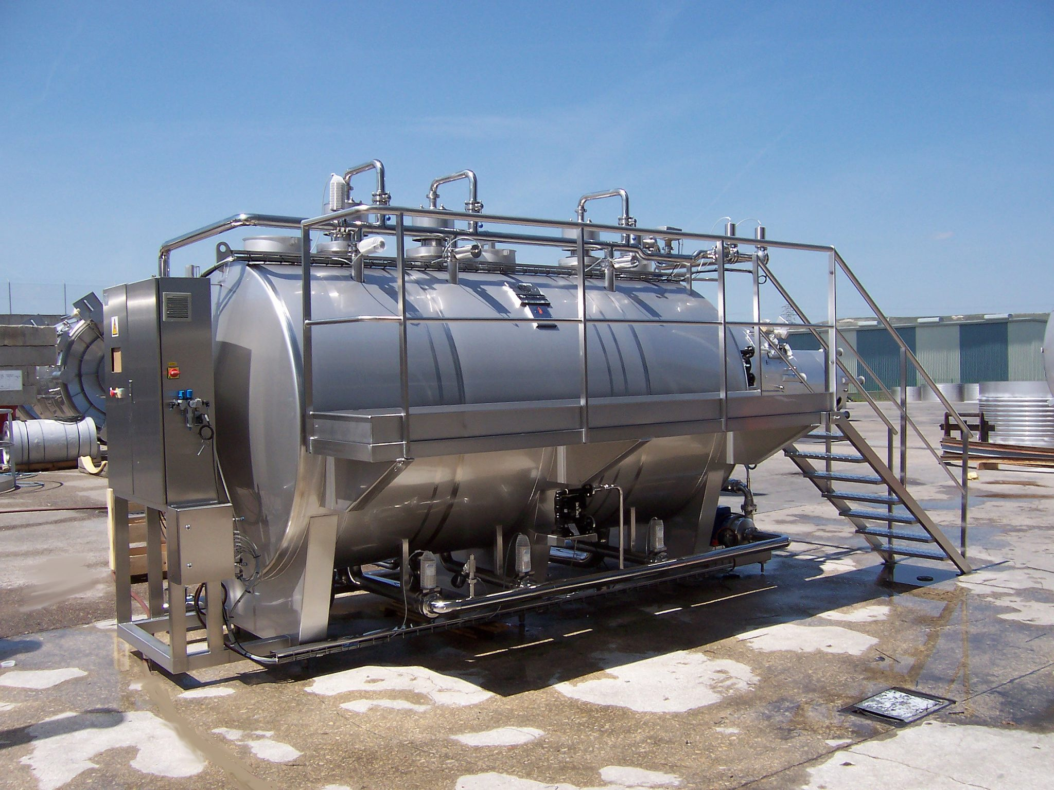 HRS Cleaning System (CIP & SIP)