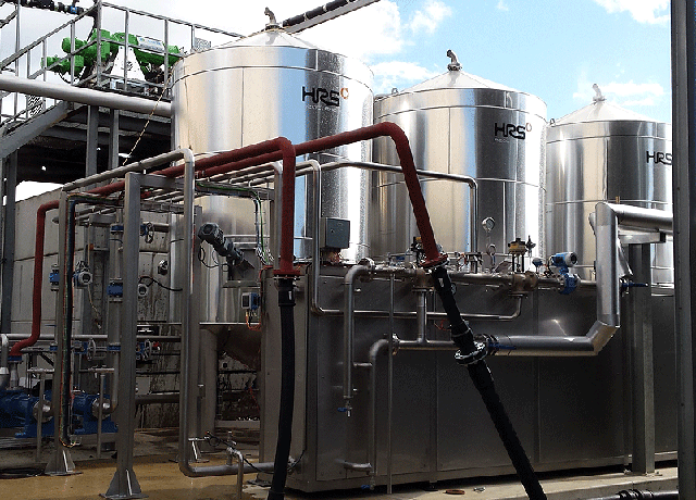 HRS Digestate Pasteurisation Systems