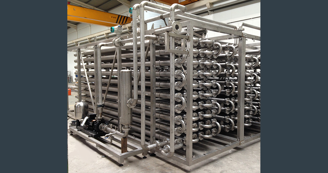 HRS DTI Series Double Tube Heat Exchanger - Sludge Application