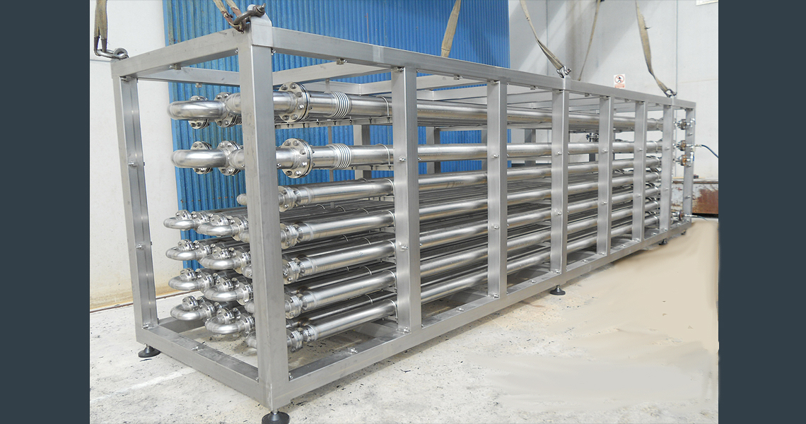 HRS DTR Series Double Tube Heat Exchanger - Digester Heating