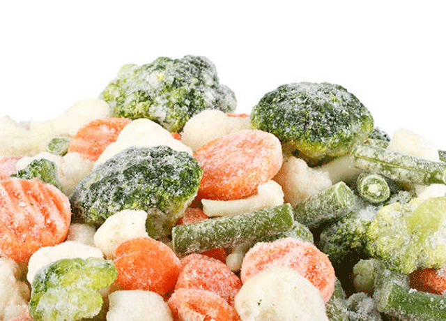 Frozen Vegetables- HRS Food Applications