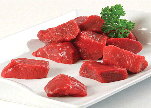 Chunks of Red Meat - HRS Meat Applications