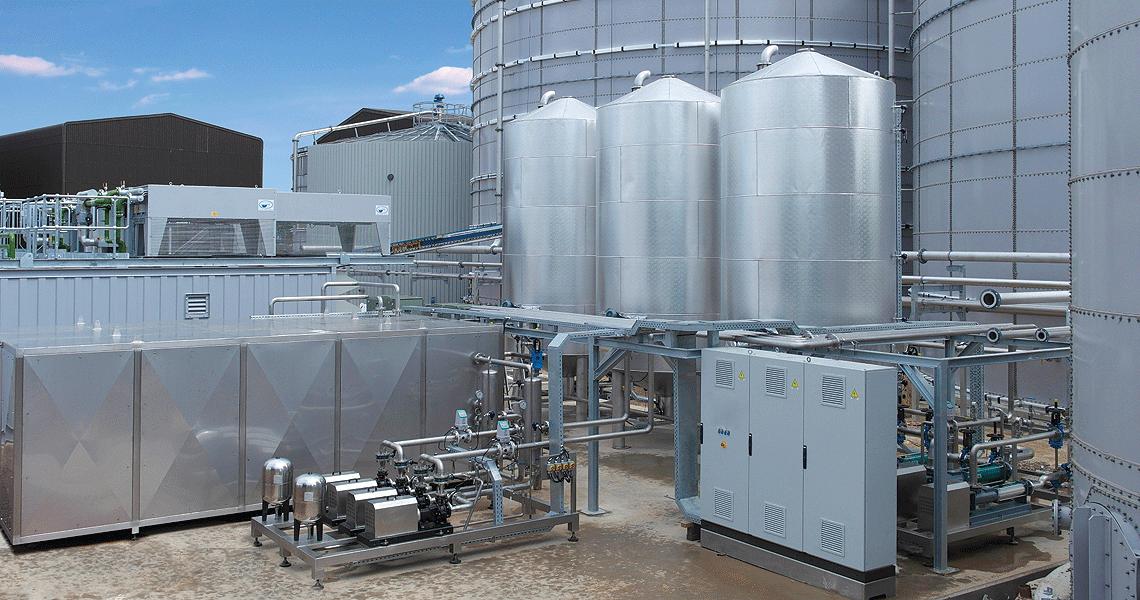 HRS DPS Sludge Pasteurisation System - Dungannon