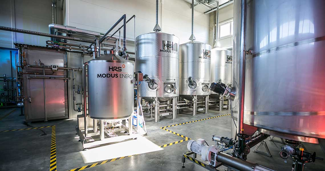 HRS Digestate Pasteurisation System (DPS), Modus Energy