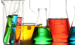 Chemicals in Beakers - HRS Chemicals