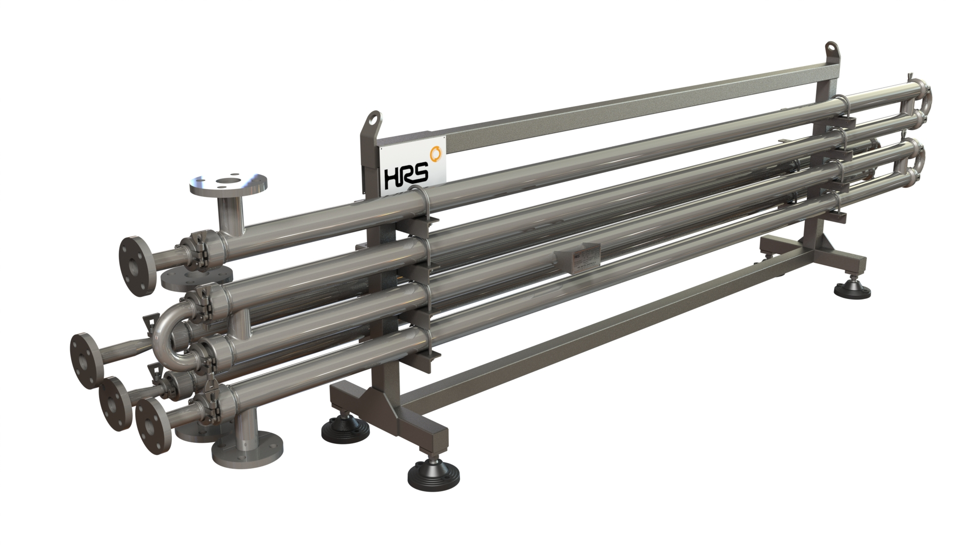 HRS DTR Series Double Tube Heat Exchanger