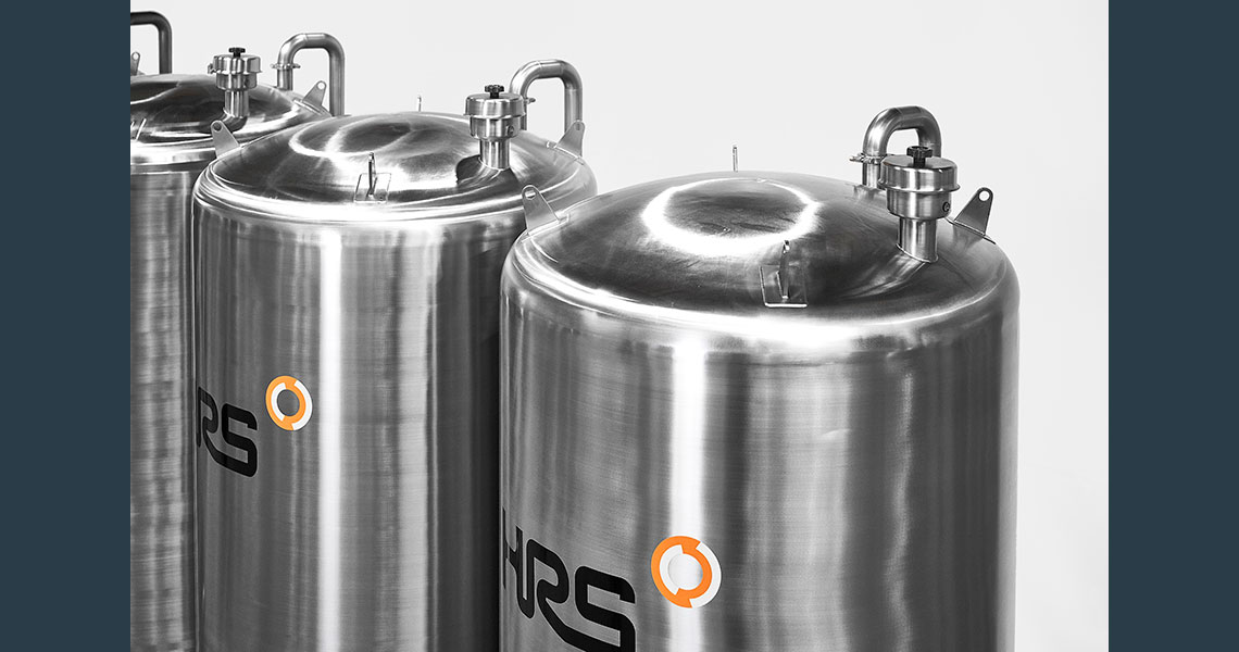 HRS CIP & SIP Systems - Close Up Tanks