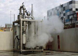 Evaporation-pilot-plant