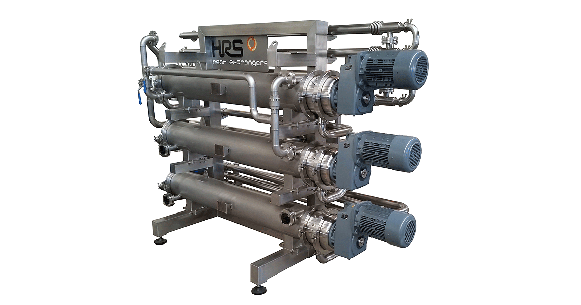 HRS R Series Scraped Surface Heat Exchanger - Alimentos Profusa, Mexico