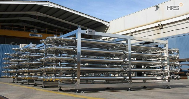 HRS Annular Space Heat Exchangers