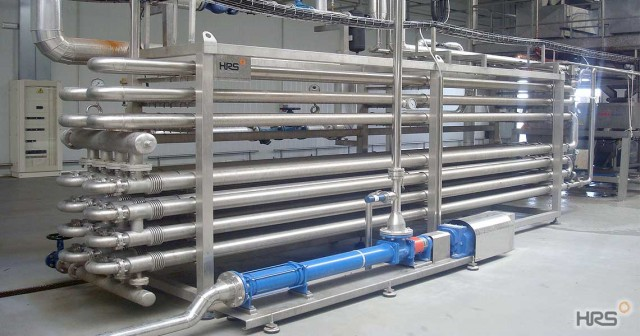 HRS DTA Series Hygienic Double Tube Heat Exchangers