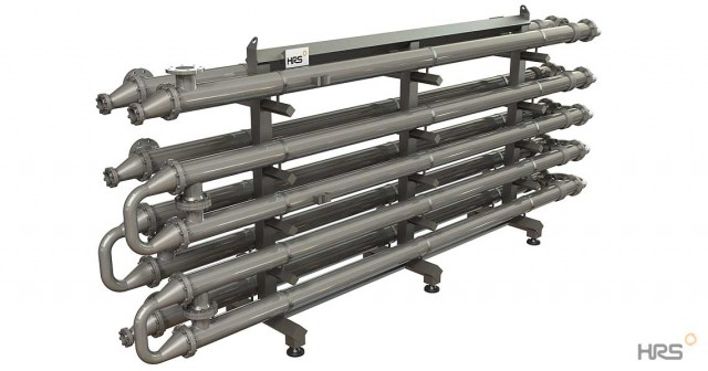 HRS MI Series Hygienic Multi Tube Heat Exchanger