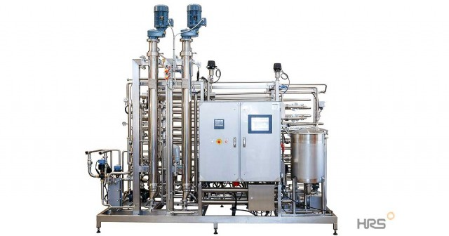 HRS R Series Scraped Surface Heat Exchanger Package - Coffee Concentrate